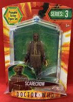 Doctor Who Series 3: Scarecrow (Brown Tie) - Action Figure - Sealed on Card
